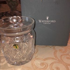 NEW Waterford Biscuit Barrel